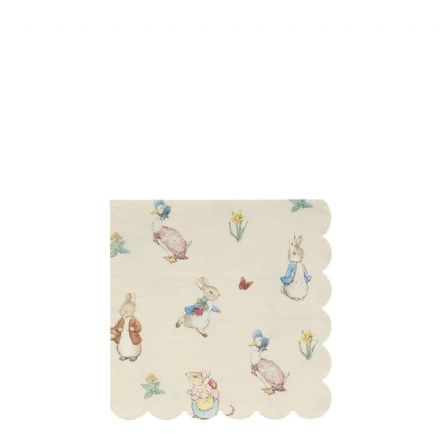 Peter Rabbit & Friends Party Napkins - Small